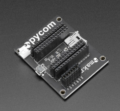 WiPy IOT 개발 플랫폼 용 확장 보드 / Expansion Board for WiPy IOT Development Platform / Adafruit / [2960]